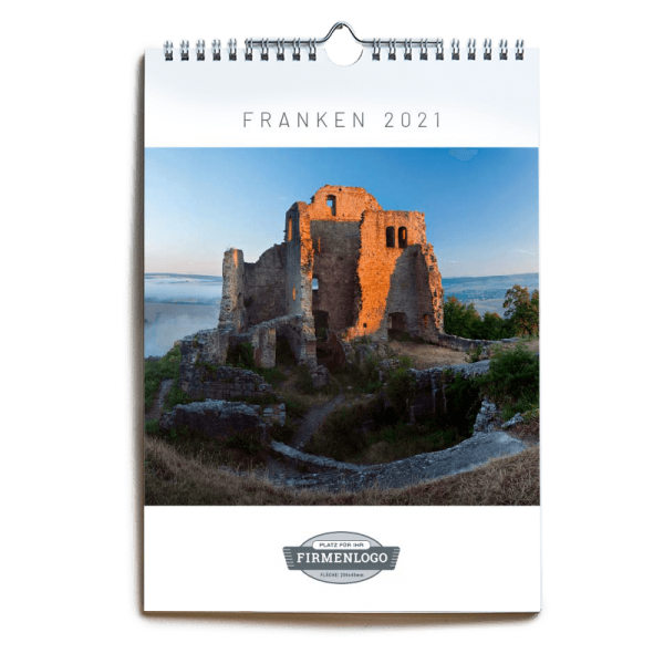 Werbe-Kalender Franken 2021, DIN A4