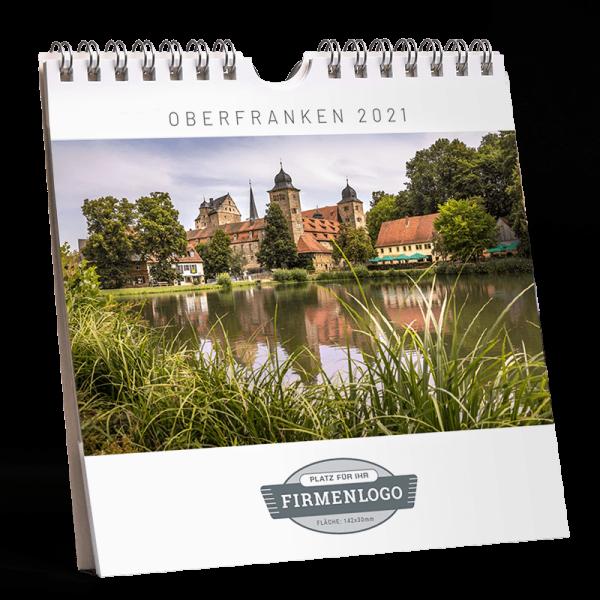 Werbe-Kalender Oberfranken 2021, 148 x 148 mm