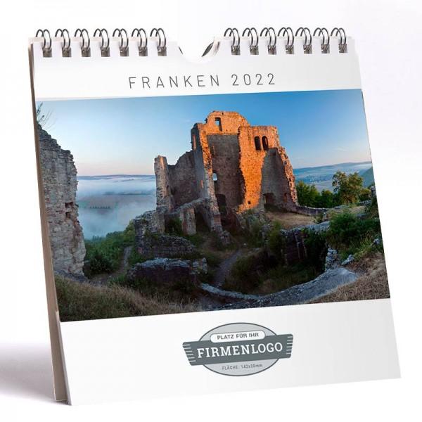 Werbe-Kalender Franken 2022, 148 x 148 mm