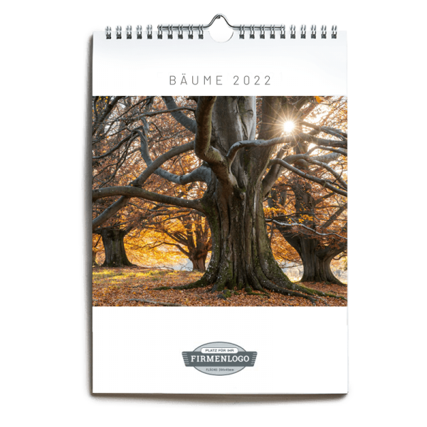 Werbe-Kalender Bäume 2022, DIN A4