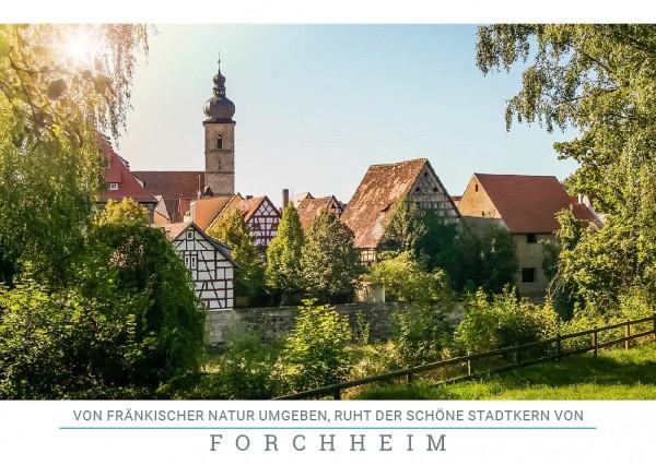 "Postkarte ""Altstadt Forchheim"""