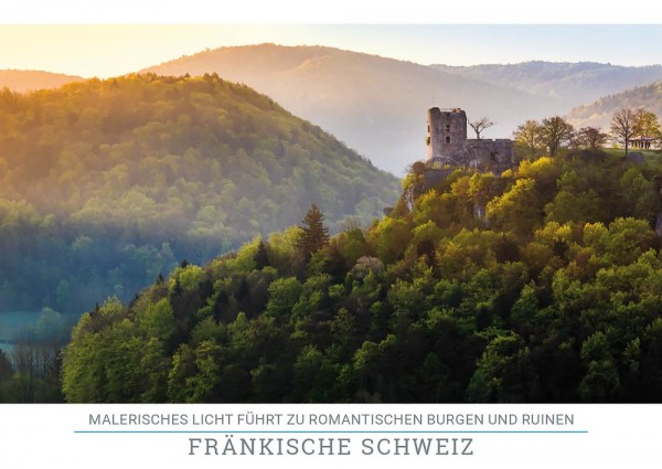"""Postkarte """"Ruine Neideck"""""""