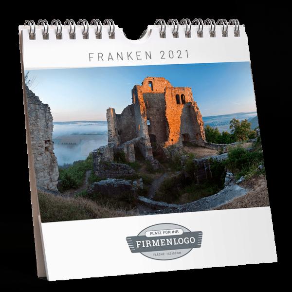 Werbe-Kalender Franken 2021, 148 x 148 mm