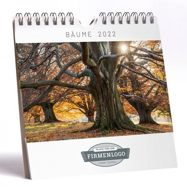 Werbe-Kalender Bäume 2022, 148 x 148 mm