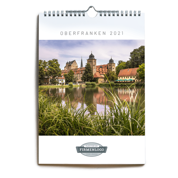 Werbe-Kalender Oberfranken 2021, DIN A4