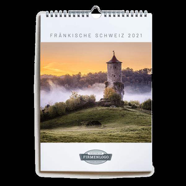 Werbe-Kalender Fränkische Schweiz 2021, DIN A4