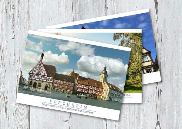 """Postkartenset """"Forchheim"""""""