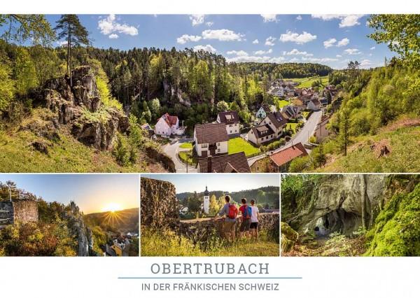 """Postkarte """"Obertrubach"""""""