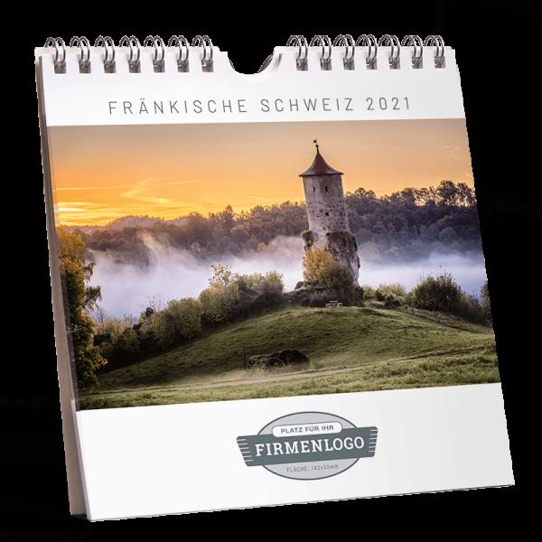 Werbe-Kalender Fränkische Schweiz 2021, 148 x 148 mm