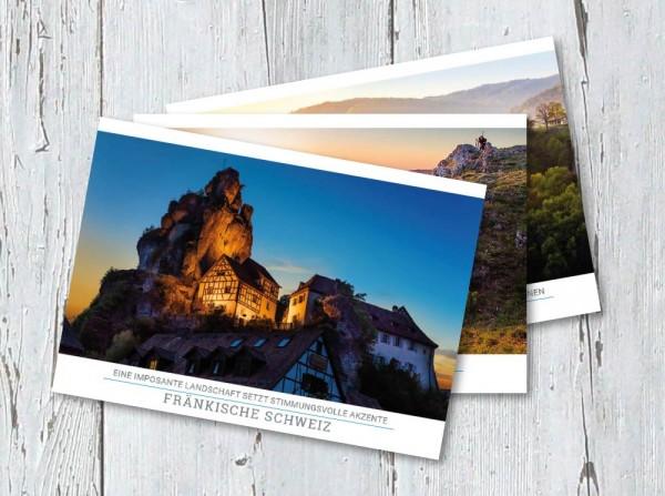 """Postkartenset """"Fränkische Schweiz"""""""